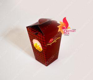 جعبه سیب زمینی هرمی کوچک