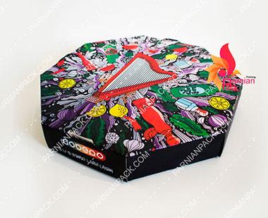 جعبه پیتزا هشت ضلعی
