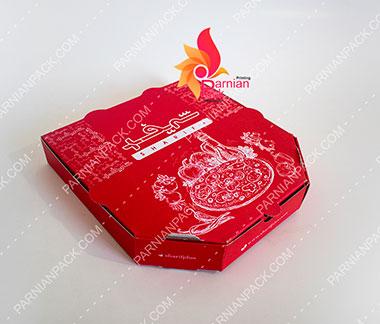 جعبه پیتزا شش ضلعی3