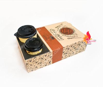 جعبه جالیوانی با جای دونات و برگر