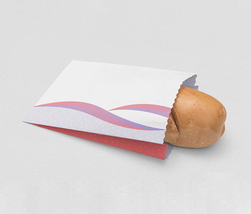 پاکت سفید نان چاپ آماده