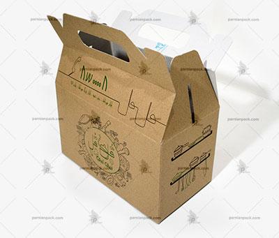 جعبه غذا دسته دار020