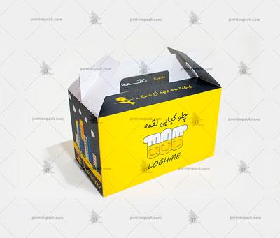 جعبه غذا دسته دار023