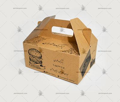 جعبه غذا دسته دار028