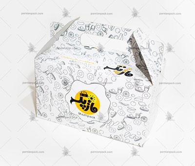 جعبه غذا دسته دار034