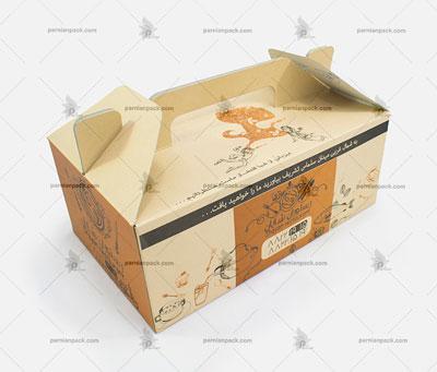 جعبه غذا دسته دار040