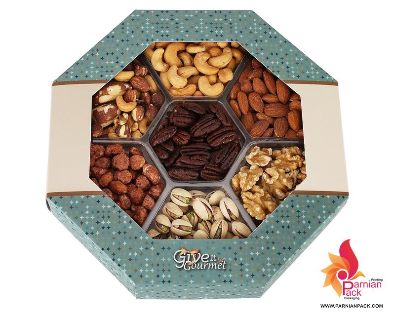 مدل جعبه خشکبار 8 ضلعی